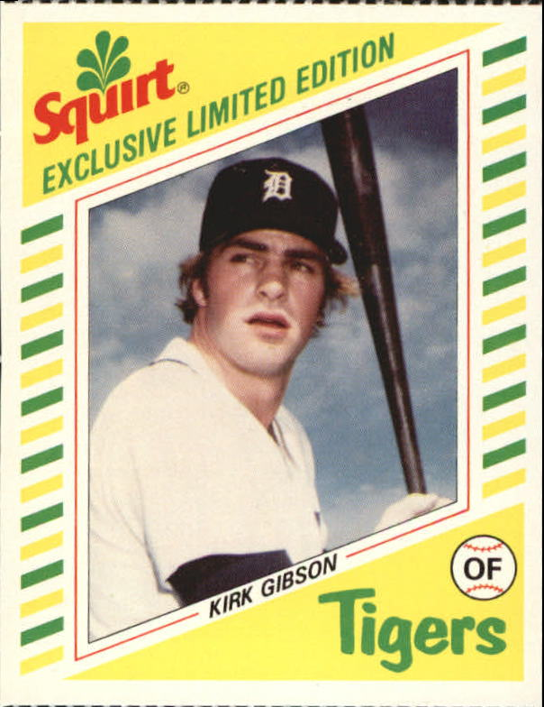 1982 Squirt #6 Kirk Gibson