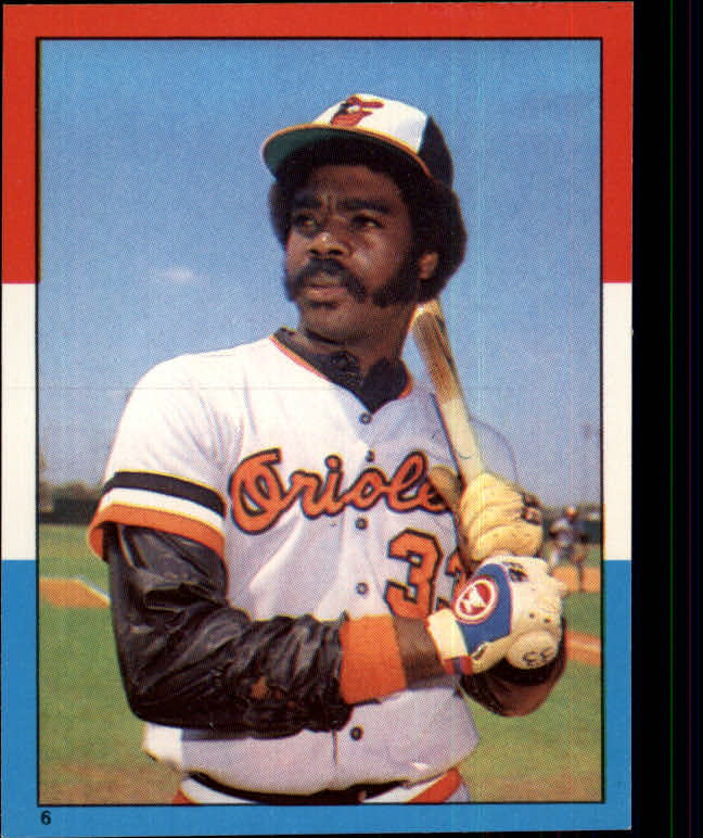 1982 Topps Stickers #6 Eddie Murray LL