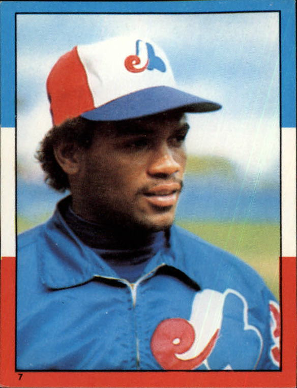 1982 Topps Stickers #7 Tim Raines LL