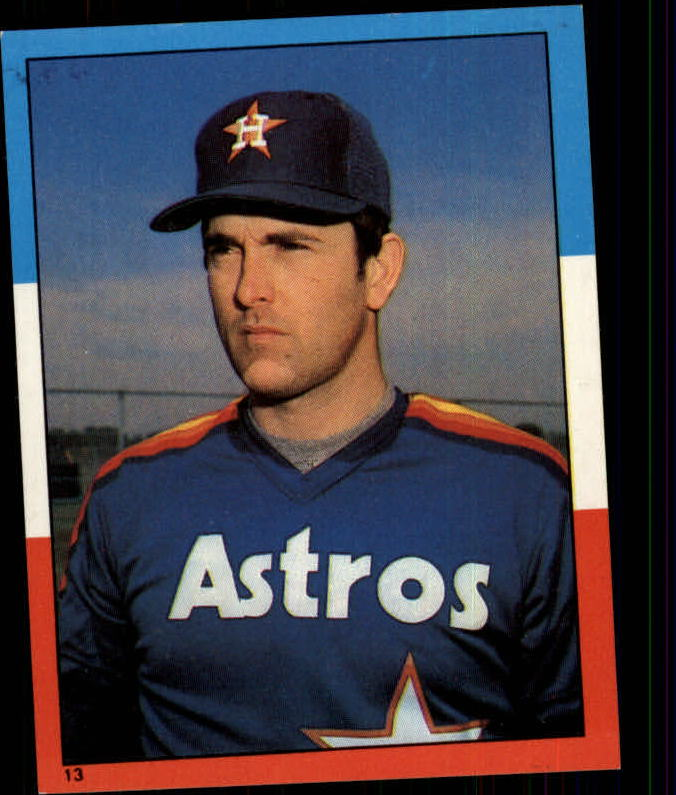 1982 Topps Stickers #13 Nolan Ryan LL