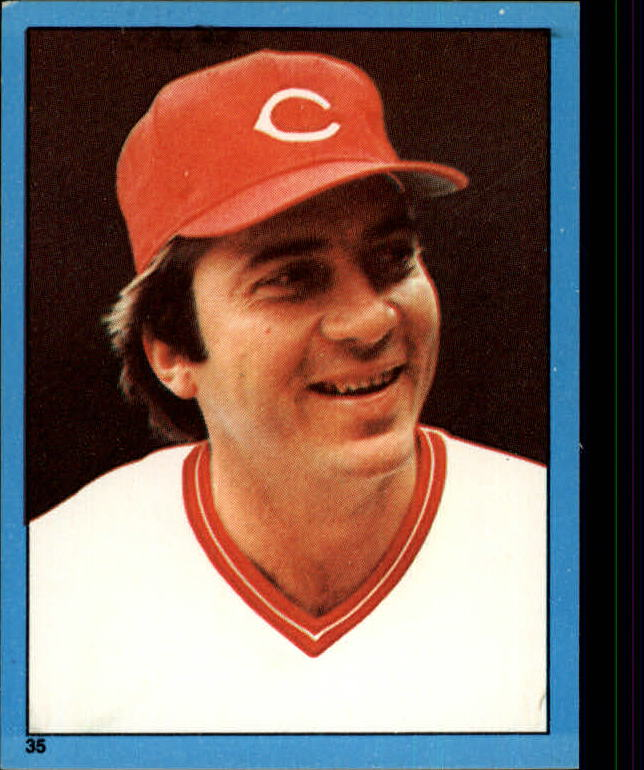 1982 Topps Stickers #35 Johnny Bench