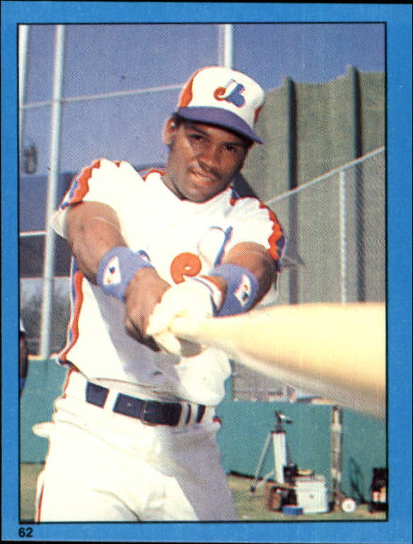1982 Topps Stickers #62 Tim Raines
