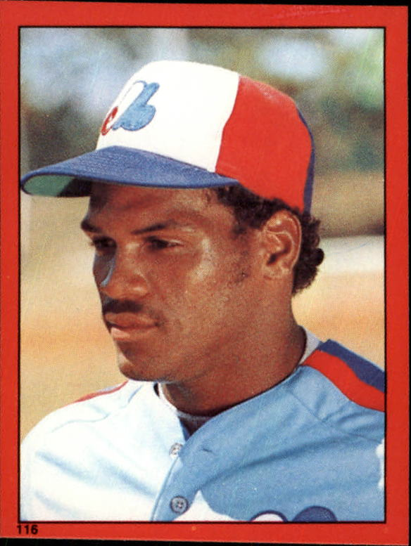 1982 Topps Stickers #116 Tim Raines HL