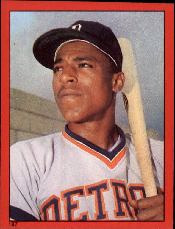 1982 Topps Stickers #187 Lou Whitaker