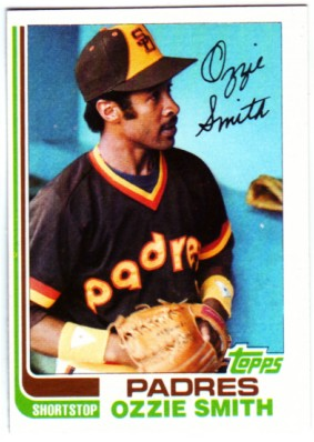 1982 Topps #95 Ozzie Smith