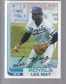 1982 Topps #132 Lee May