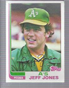 1982 Topps #139 Jeff Jones