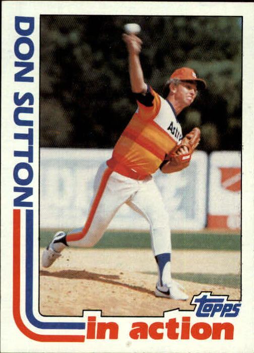 1982 Topps #306 Don Sutton IA