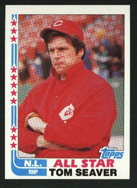 1982 Topps #346 Tom Seaver AS