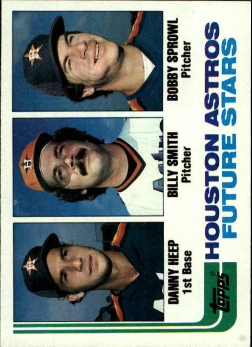 1982 Topps #441 Danny Heep/Billy Smith RC/Bobby Sprowl