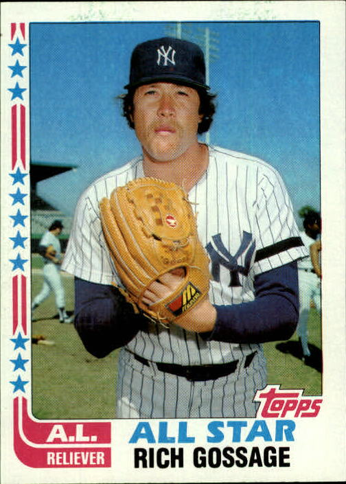 1982 Topps #557 Rich Gossage AS