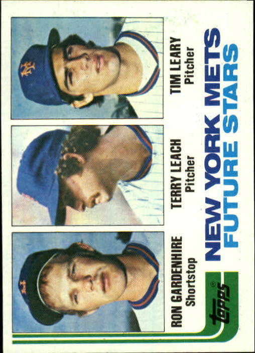 1982 Topps #623 Ron Gardenhire RC/Terry Leach RC/Tim Leary RC