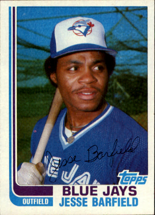 1982 Topps Traded #2T Jesse Barfield