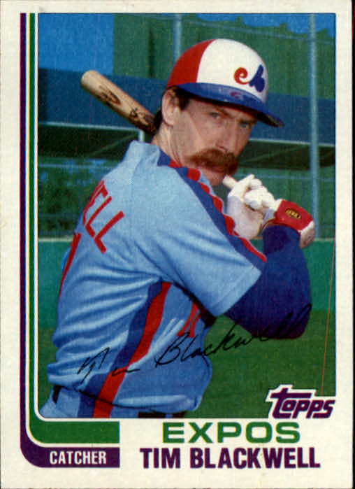 1982 Topps Traded #7T Tim Blackwell