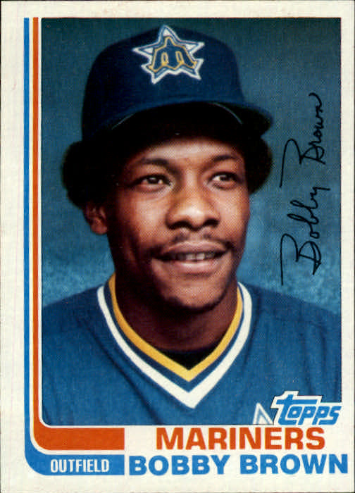1982 Topps Traded #12T Bobby Brown