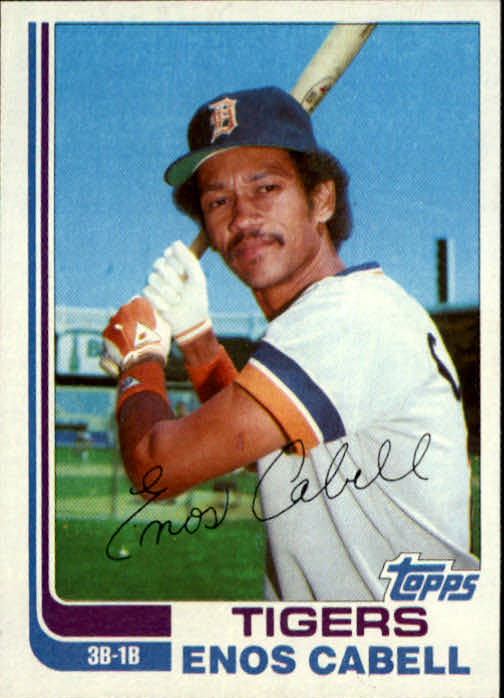 1982 Topps Traded #15T Enos Cabell