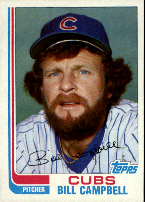 1982 Topps Traded #16T Bill Campbell front image