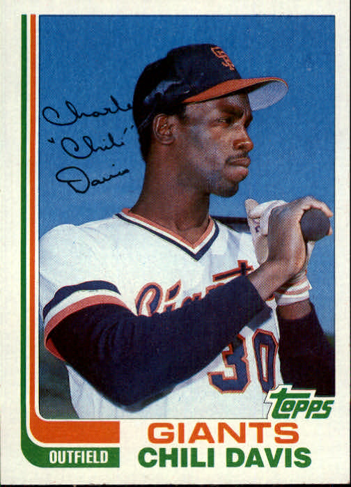 1982 Topps Traded #23T Chili Davis
