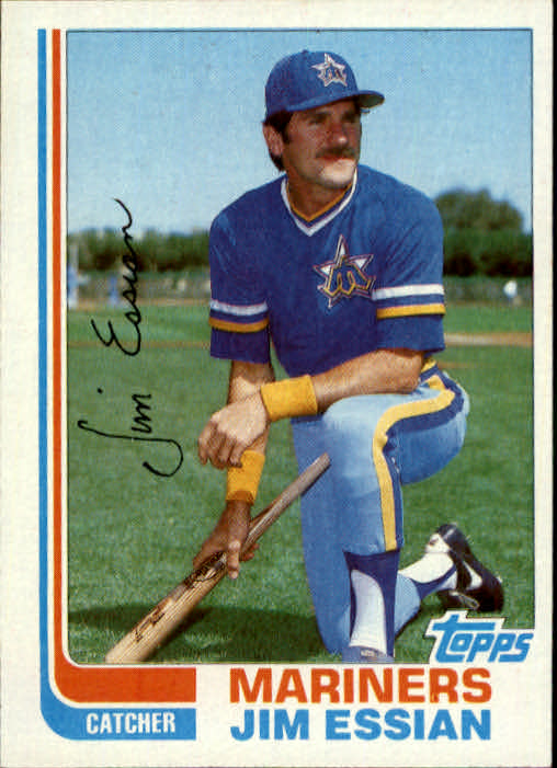 1982 Topps Traded #31T Jim Essian