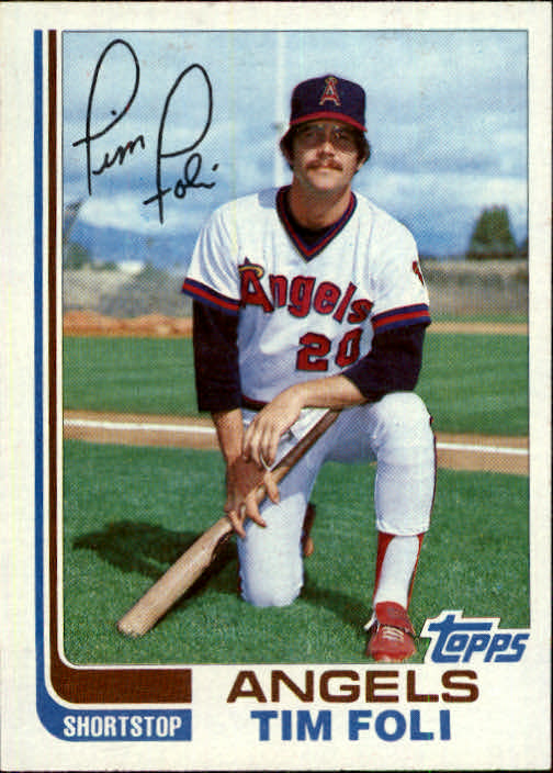 1982 Topps Traded #34T Tim Foli