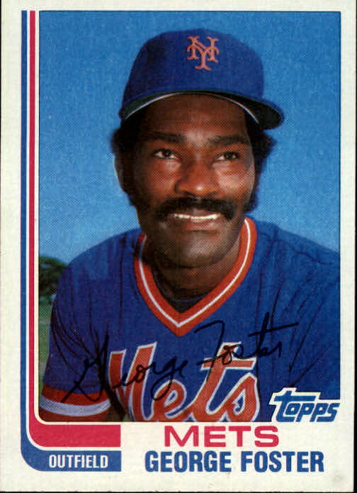 1982 Topps Traded #36T George Foster