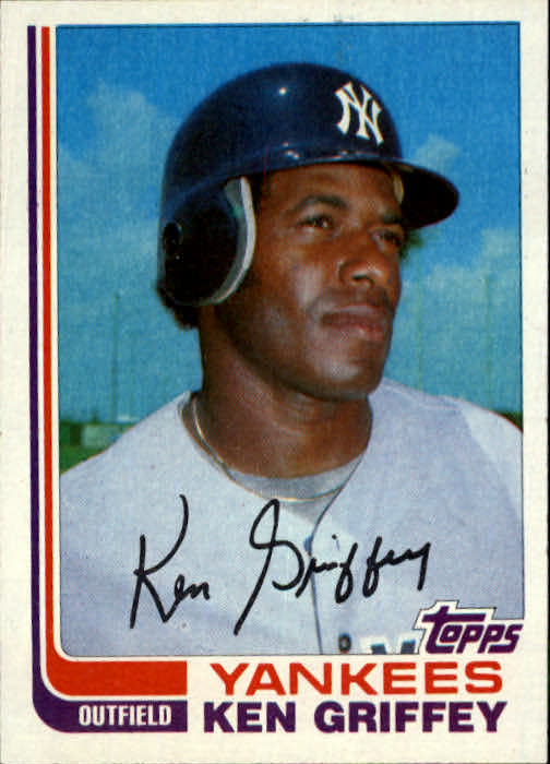 1982 Topps Traded #40T Ken Griffey