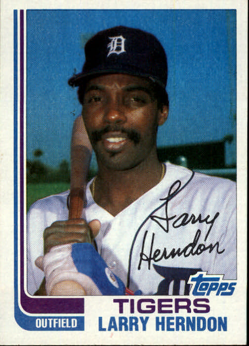 1982 Topps Traded #43T Larry Herndon