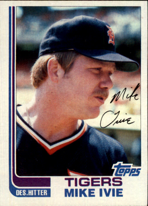 1982 Topps Traded #45T Mike Ivie