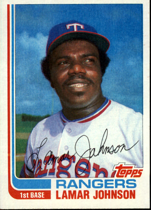 1982 Topps Traded #50T Lamar Johnson