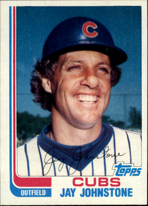 1982 Topps Traded #52T Jay Johnstone