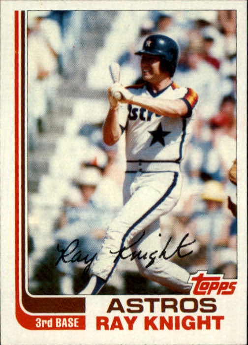 1982 Topps Traded #57T Ray Knight