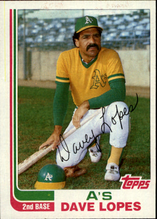 1982 Topps Traded #64T Dave Lopes