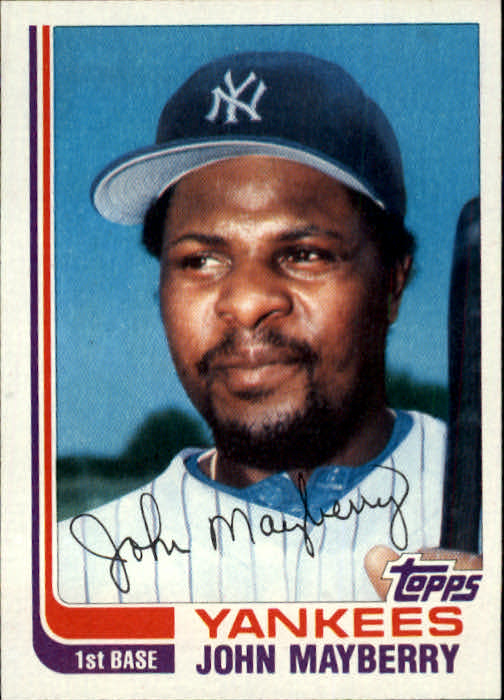 1982 Topps Traded #67T John Mayberry