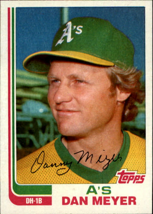 1982 Topps Traded #70T Dan Meyer