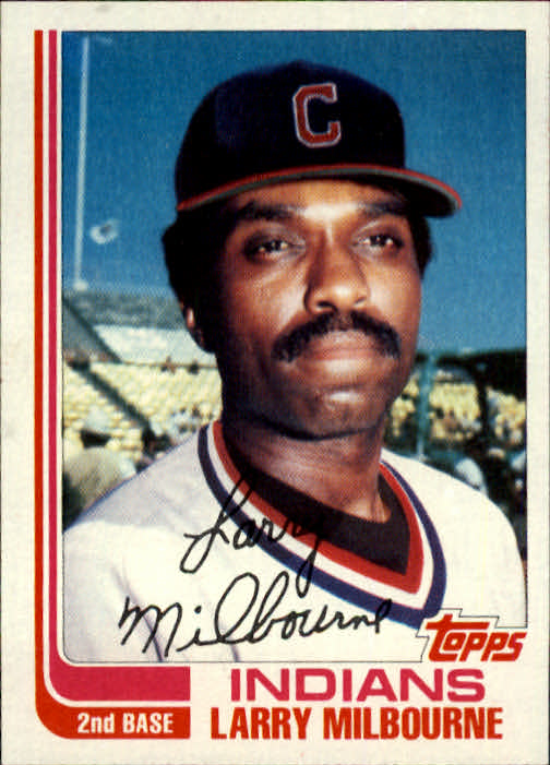1982 Topps Traded #71T Larry Milbourne