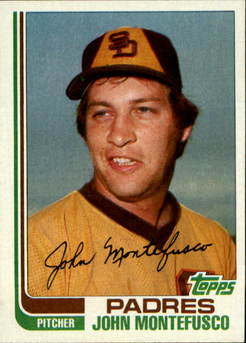1982 Topps Traded #74T John Montefusco