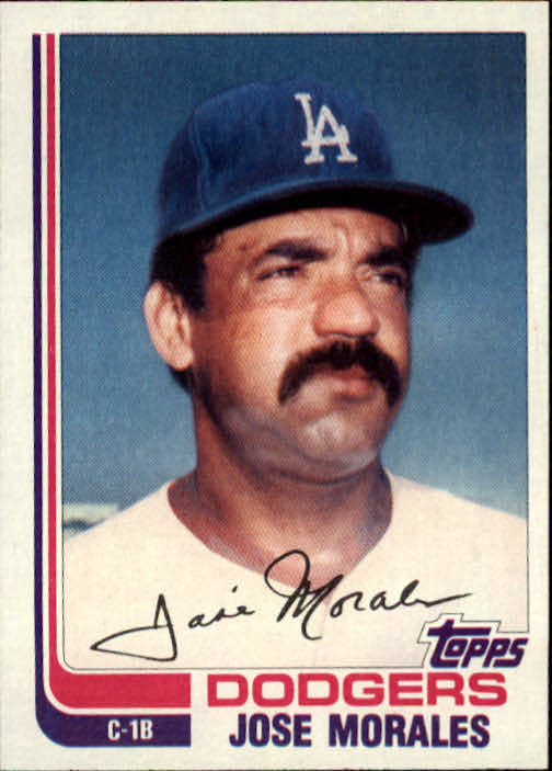 1982 Topps Traded #75T Jose Morales