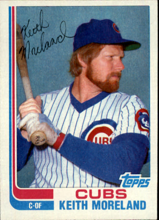 1982 Topps Traded #76T Keith Moreland