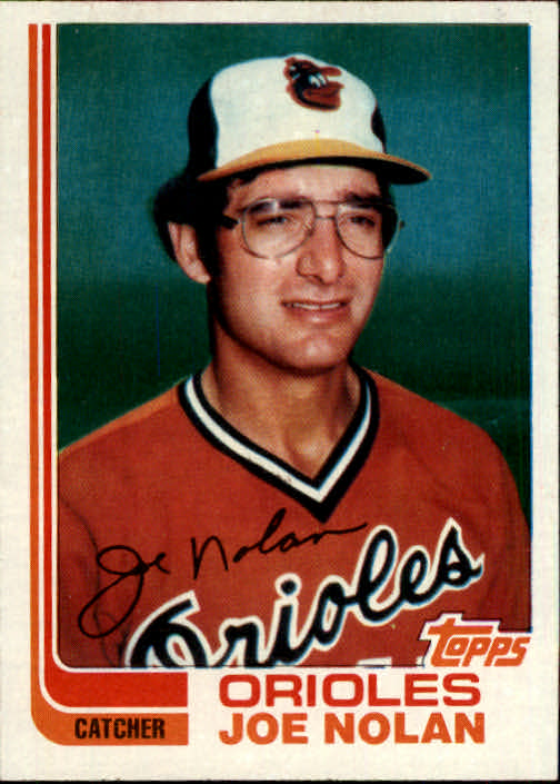 1982 Topps Traded #81T Joe Nolan