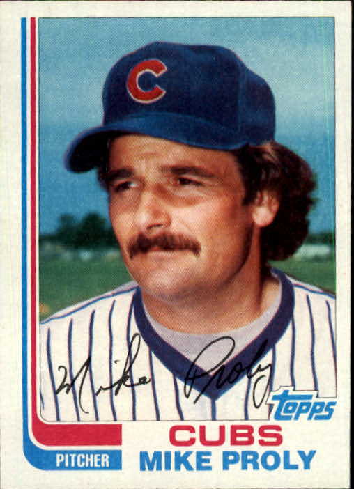 1982 Topps Traded #92T Mike Proly