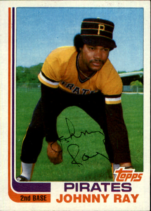 1982 Topps Traded #96T Johnny Ray