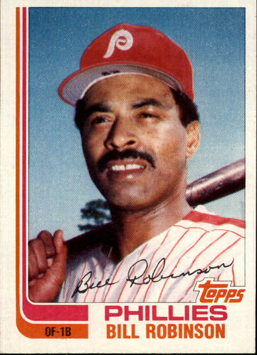 1982 Topps Traded #100T Bill Robinson front image