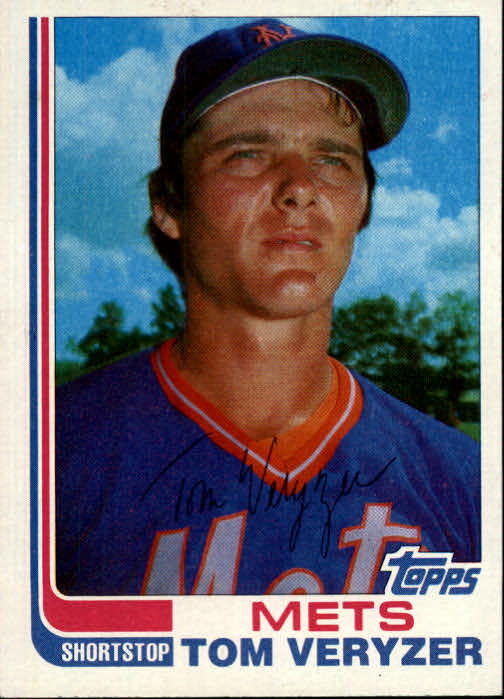 1982 Topps Traded #123T Tom Veryzer