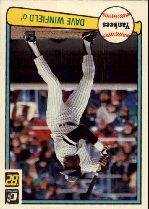 1982 Donruss #31 Dave Winfield