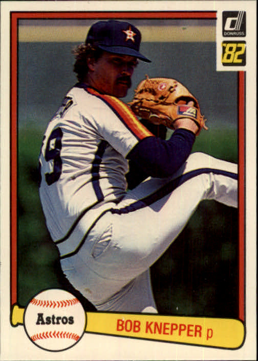1982 Donruss #41 Bob Knepper