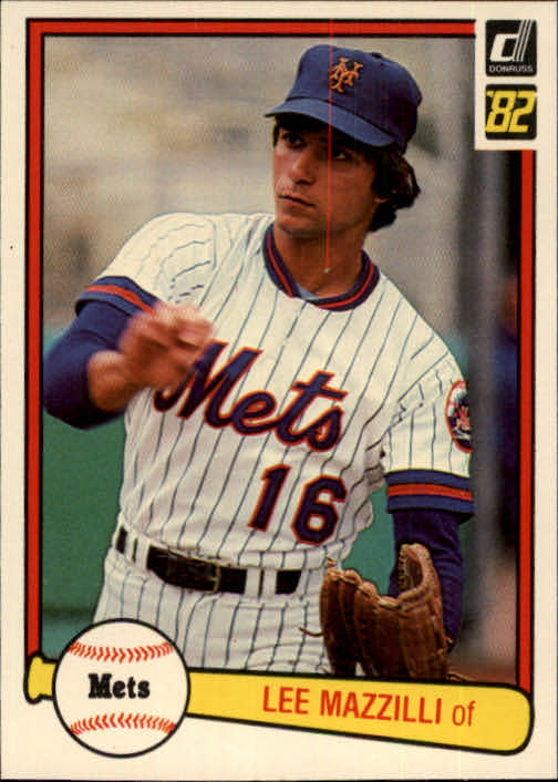 1982 Donruss #49 Lee Mazzilli