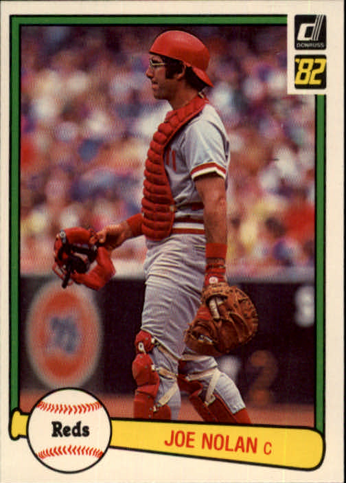 1982 Donruss #62 Joe Nolan