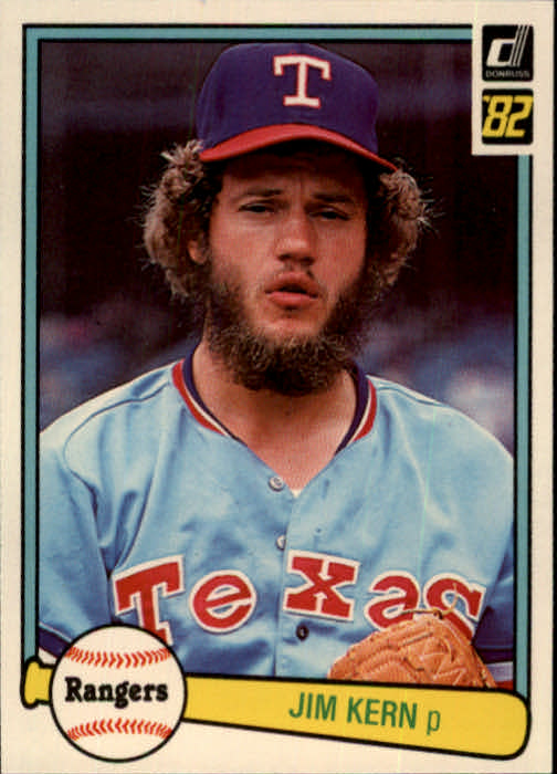 1982 Donruss #89 Jim Kern