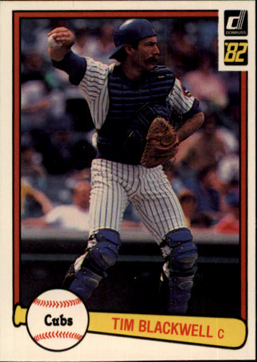 1982 Donruss #99 Tim Blackwell