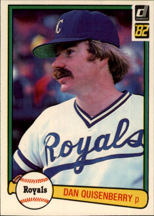 1982 Donruss #112 Dan Quisenberry